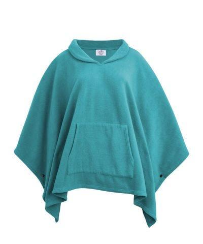 Cape fleece skirt skirt fleece warm cape plum fleece poncho cape pin matching plum fleece warm fleece skirt