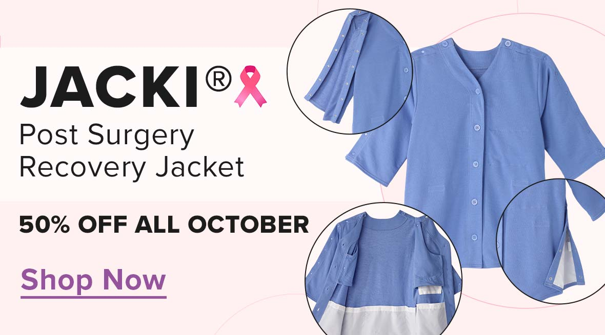Jacki Post-Surgery Recovery Jacket - 50% Off All October