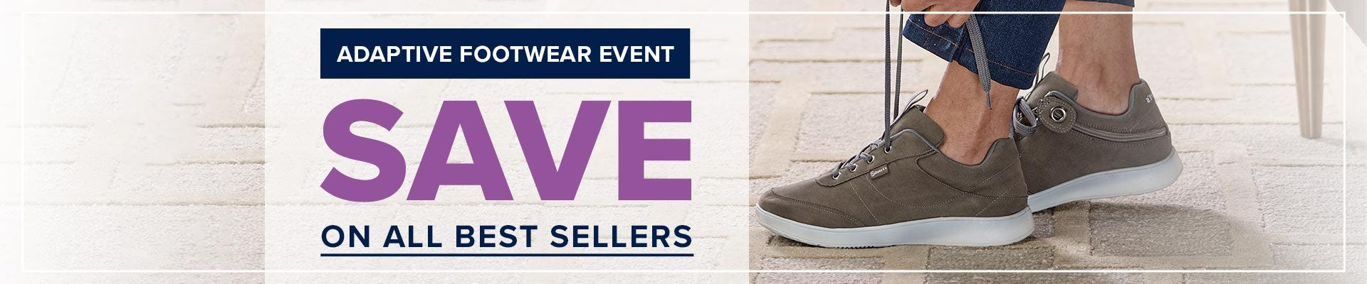 Adaptive Footwear Event - Save on all bestselles